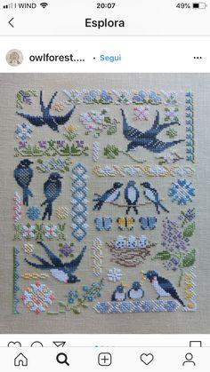 Cross Stitch Tree, Cross Stitch Needles, Cross Stitch Samplers, Cross Stitch Charts, Cross Stitch Designs, Cross Stitching, Cross Stitch Embroidery, Cross Stitch Patterns, Cross Stitch Collection