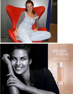 This 2004 Armani ad marked the 1st and only time I saw a woman in a magazine and immediately felt ugly. She was just so--flawless. I knew of Photoshop but didn't see a weird ear, teeth like bleached chiclets, lack of knuckles, smooth skin filter, or eyebright. I only saw beauty I'd never have. Because of my research for DCYTC, this image now holds no power over me. The model, Leticia Birkheuer, doesn't look like this ad. She has a joyful glow that is her own, and it's a far greater beauty. -Indy