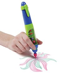 A Spyro Gyro pen to bring your doodling to the next level. | 23 Ridiculously Cool Toys That Kids And Adults Will Enjoy