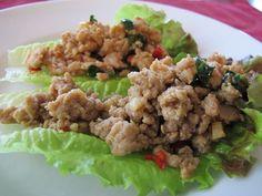 Thai Ground Chicken Basil | Yackels Yummies