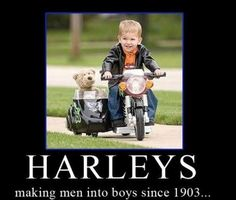 Harley Davidson Sidecar for Teddy Biker Baby, Best Kids Toys, Kids Ride On, Ride On Toys, Pedal Cars, Baby Design, Cool Bikes, Cute Kids, Moped Bike