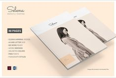 Premium Fashion Look Book & Catalog by afahmy on @creativemarket