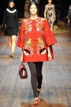 Sfilate Dolce & Gabbana - Collezioni Autunno Inverno 2014-15 - Collezione - Vanity Fair