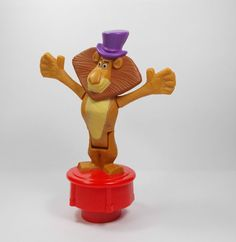 Madagascar - Alex - Toy Figure - Cake Topper (1)