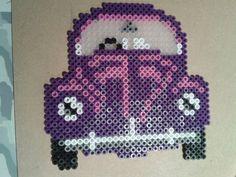 VW Car hama beads by Laetichoux