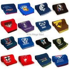 AFL Polar fleece Throw rug Blanket - CHOOSE YOUR TEAM