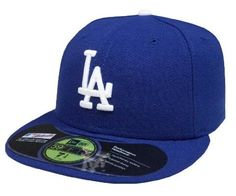La dodgers fitted hats