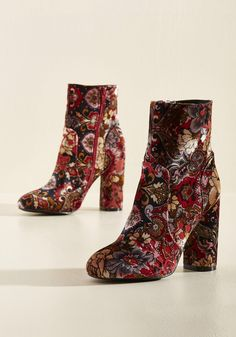 Optical Amusement Bootie, #ModCloth