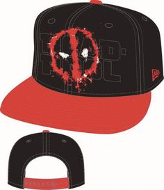 47a0cb584d5 Deadpool Cap - Logo Splat 950 Snapback. New Era ...