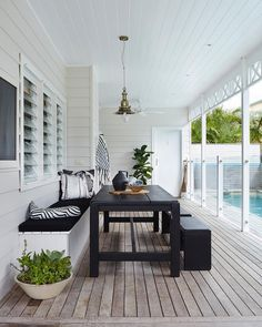 #Outdoorliving #inspiration via @atlanticbyronbay. Be sure to grab a copy of the spring issue with our bonus annual Outdoor & Poolside Living for plenty of #homeinspiration. Photo: Alicia Taylor