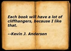 Kevin J. Anderson on writing.