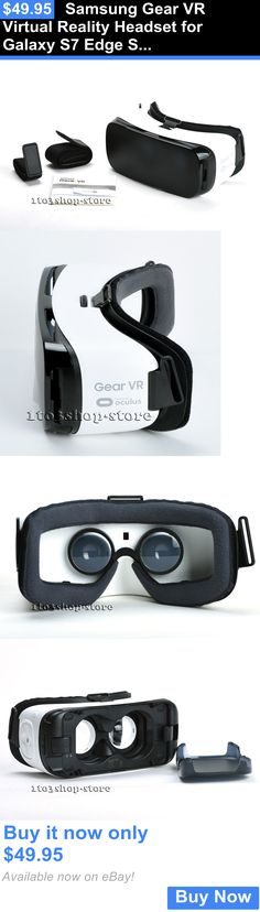 Smartphone VR Headsets: Samsung Gear Vr Virtual Reality Headset For Galaxy S7 Edge S7 S6 Edge Note 5 BUY IT NOW ONLY: $49.95