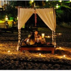 Secret nighttime picnic <3
