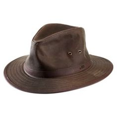 Orvis Oilcloth Outback Hat for Men - Sage - M Oilcloth 19ff2350c45c