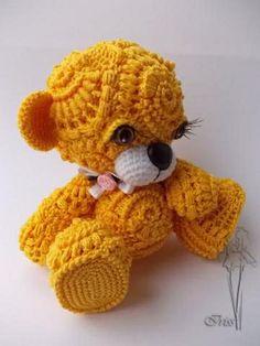Free form crochet by Irina Iriss More