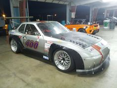 porsche 944 silver race - Google Search