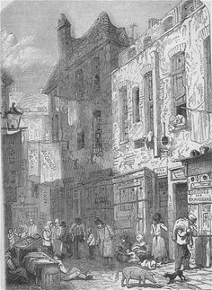 "The horrors of the London slum of St Giles's - nicknamed ""Old Nichol"""