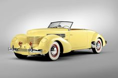 "Cord 812 SC 1937 ""Sportsman"" Convertible Coupe.Sold for USD385000"