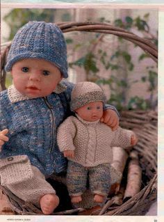 Albumarkiv Bitty Baby, Baby Dolls, Crochet Hats, Album, Archive, Fashion, Doll Clothes, Cabbages, Knitting Hats