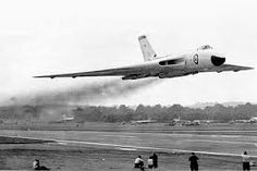 Image result for vulcan bomber falklands