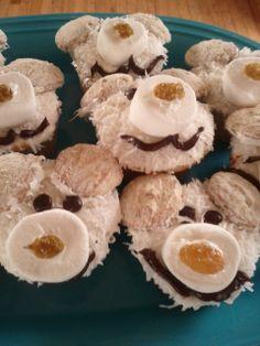 Fun Polar Bear Facts Inspire Cute Polar Bear Cupcakes