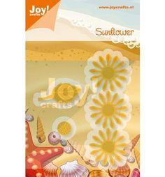 Joy!Crafts mallen 6002/0452 Zonnebloem