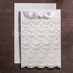 Hochzeits-Einladungen Oberseite gefaltet Einladungskarten Personalisiert 50 Stück / Set 2016 – €48.99