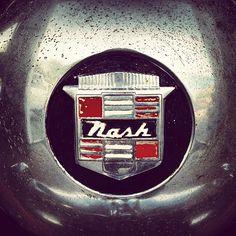 * nash// #shield #type #vintage #logo | Flickr - Funnel / Eric Kass Auto Logos, Car Logos, Vintage Auto, Vintage Cars, Car Hood Ornaments, Car Badges, First Car, Animal Logo, Brand Design