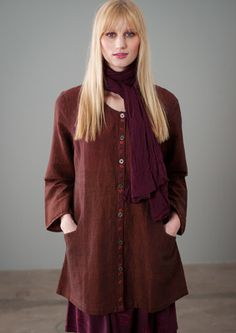 Linen/cotton jacket – Linen & cotton weaves – GUDRUN SJÖDÉN – Webshop, mail order and boutiques | Colorful clothes and home textiles in natu...