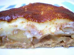 Torta de Maçã Caramelizada com Creme e Canela | Figos & Funghis