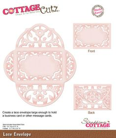 Cottage Cutz - Dies - Lace Envelope