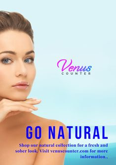Shop our natural 🌿collection for a fresh and sober look. Visit venuscounter.com for more information.😊#naturalskincare #skincare #organicskincare #skincareroutine #beauty #naturalbeauty #natural #healthyskin #glowingskin #crueltyfree #organic #greenbeauty #skin #selfcare #antiaging #cleanbeauty #vegan #skincareproducts #skincaretips #veganskincare #naturalproducts #organicbeauty #naturalskincareproducts #handmade #acne #essentialoils #beautycare #veganbeauty #makeup #bhfyp Organic Beauty, Organic Skin Care, Natural Skin Care, Natural Beauty, Going Natural, Vegan Beauty, Sober, Glowing Skin, Beauty Care
