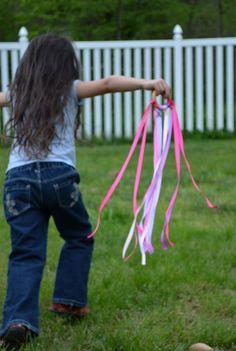 Waldorf Hand Kite - Rainbow. $7.00, via Etsy.