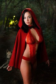 """all-the-sexy-cosplayers:  """"Fairy Tales: Red Riding Hood  """""""