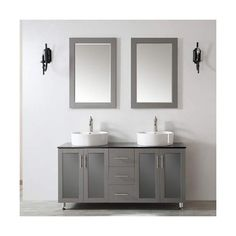 Miseno Mv745060 60 Free Standing Double Vanity Set With Wood Cabinet 1 660