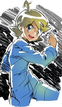 Clemont ^.^ ♡ I give good credit to whoever made this