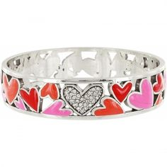 Lotta Love Lotta Love Wide Bangle- from my husband for Valentine's Day.