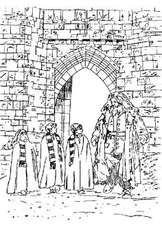 coloring page Harry Potter and the Philosophers Stone - Harry Potter and the Phi. Philosopher's Stone Harry Potter, Harry Potter Ron And Hermione, Harry Potter Sign, Harry Potter Colors, Harry Potter Free, Harry Potter Disney, Coloring Pages For Teenagers, Cool Coloring Pages, Coloring Books