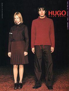 HUGO BOSS 1998 Hugo Model: Sienna Guillory