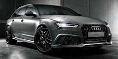 Matte Grey Audi RS6 Avant by Audi Exclusive