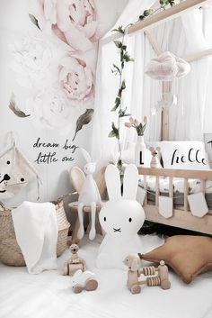 Inspiration from Instagram - KARITAi @mamma.karita - pastel girls room ideas, pink and grey girls room design, kidsroom decor, girls kidsroom