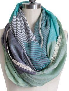 pretty infinity scarf