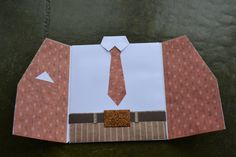 Suit card Birthday Cards For Men, Man Birthday, I Need A Hobby, Suit Card, Easy Cards, Art N Craft, Fathers Day, Paper Art, Card Ideas