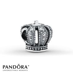 Silver crown Pandora charm oh yes we all need a crown!