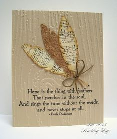 Hope by bearpaw - Cards and Paper Crafts at Splitcoaststampers