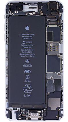 Carte Mère des iPhone 6 en Fond d'Ecran HD (gratuit) - MaxiApple.com