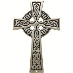 'Page Shop our quality Catholic wall crosses for sale online. Browse a variety of decorative, hanging, wooden, silver, and personalized wall cross decor at The Catholic Company. Celtic Symbols, Celtic Art, Celtic Crosses, Celtic Knot Designs, Cross Designs, Scotland Tattoo, Celtic Cross Tattoos, Outdoor Metal Wall Art, Cross Wall Decor
