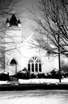 "The old Collierville Christian Church, which is now Morton Museum. From ""Old Collierville"" on FB"