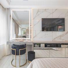 Modern Luxury Bedroom, Luxury Bedroom Design, Room Design Bedroom, Home Room Design, Luxurious Bedrooms, Home Decor Bedroom, Bathroom Luxury, Modern Classic Bedroom, Small Modern Bedroom