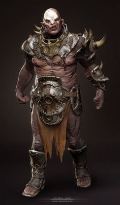 CGTalk - Orc - 3D rendered